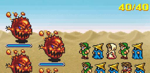 Final Fantasy: All The Bravest ya est�