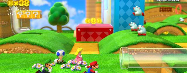 As� funciona la c�mara de Super Mario 3D World