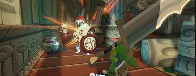 The Legend of Zelda: The Wind Waker HD se muestra en nuevas im�genes