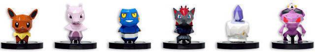 Nuevas figuras de Pok�mon Rumble U confirmadas