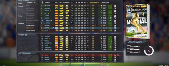 Primeras pantallas de FX F�tbol, el 'sucesor espiritual' de PC F�tbol