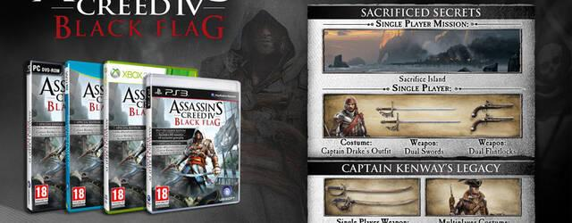 Desveladas las ediciones especiales de Assassin's Creed IV: Black Flag