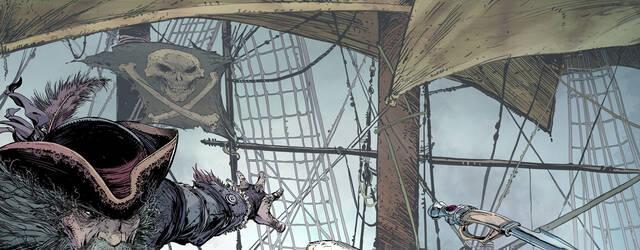 Todd McFarlane muestra c�mo hizo el p�ster de Assassin's Creed IV: Black Flag
