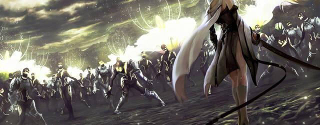 Nuevas ilustraciones de Drakengard 3