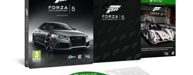 Desveladas las dos ediciones especiales de Forza Motorsport 5