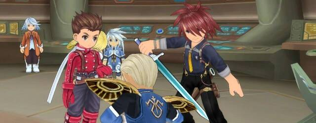 Genis se muestra en Tales of Symphonia Chronicles