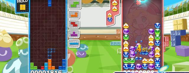 Primeras im�genes de Puyo Puyo Tetris