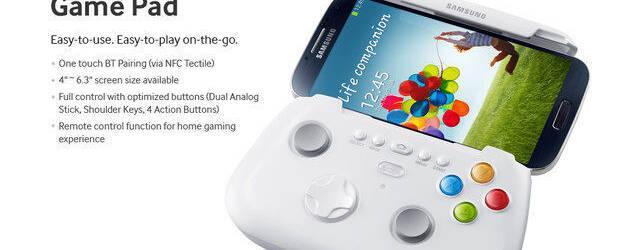 As� es el Game Pad del Samsung Galaxy S4