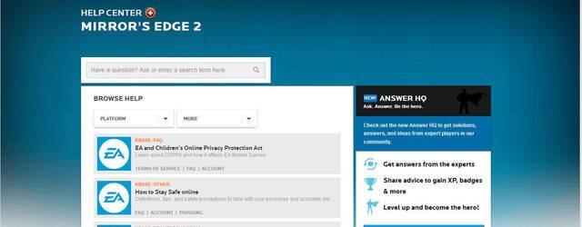 Mirror's Edge 2 aparece en la web oficial de Electronic Arts