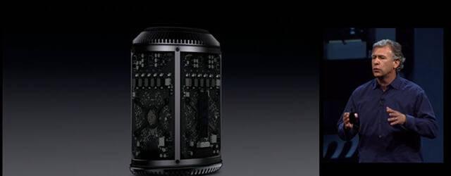 Apple presenta el nuevo Mac Pro, peque�o y cil�ndrico