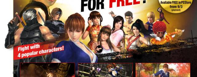 La versi�n gratuita de Dead or Alive 5 Ultimate llegar� a Occidente