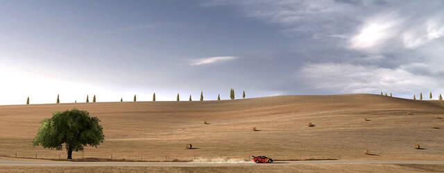 Toscana y la transici�n d�a y noche se muestran en Gran Turismo 5