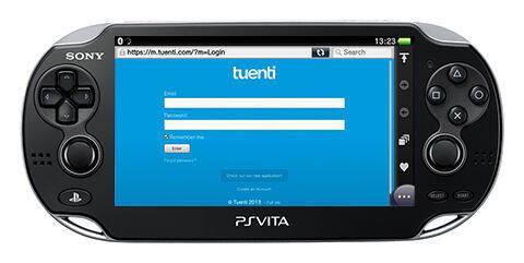 Sony destaca las posibilidades de Tuenti en PlayStation Vita