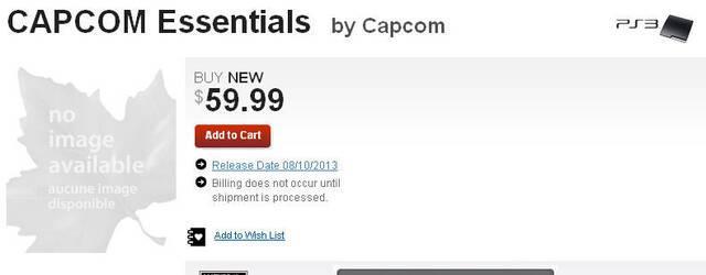 Capcom podr�a lanzar un recopilatorio de sus juegos m�s emblem�ticos de la generaci�n