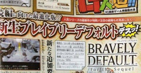 Anunciado Bravely Default: For the Sequel