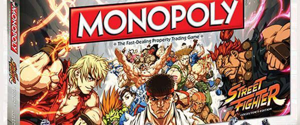 Ya est� disponible el Monopoly de Street Fighter
