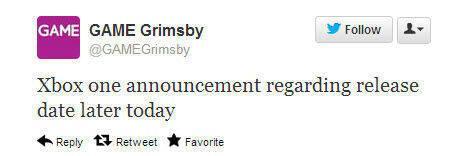 Hoy se podr�a anunciar la fecha de lanzamiento de Xbox One