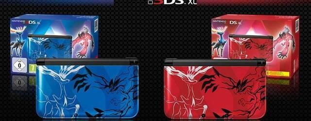 Anunciadas dos Nintendo 3DS decoradas con motivos de Pok�mon X/Y