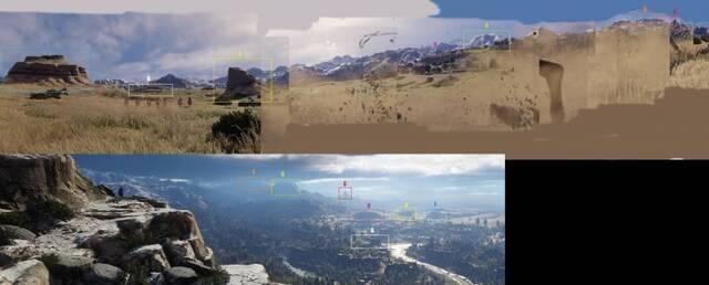 La comunidad trata de construir el mapa de Red Dead Redemption 2