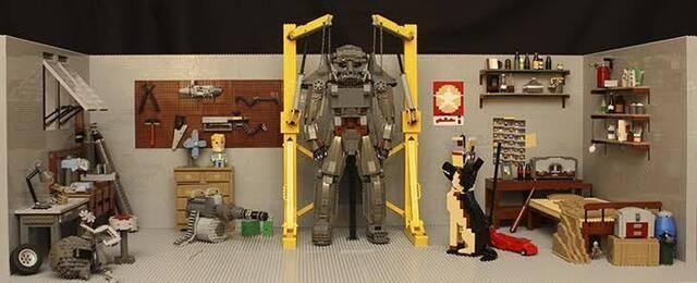 Bethesda presenta un vídeo de la creación del diorama de LEGO basado en Fallout 4