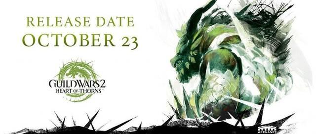 Guild Wars 2: Heart of Thorns se lanzará el 23 de octubre