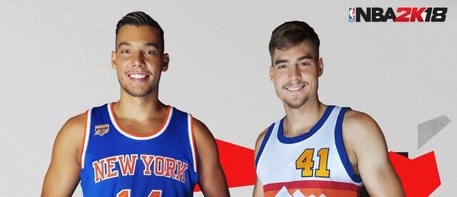 Willy y Juancho Hernangómez serán los embajadores de NBA 2K18 en España