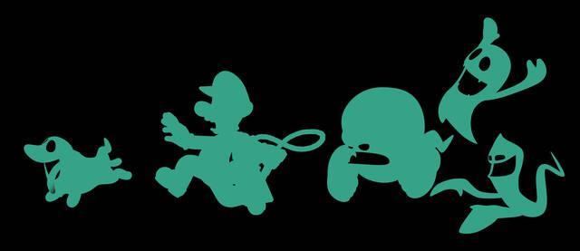 Nuevas ilustraciones de Luigi's Mansion 2