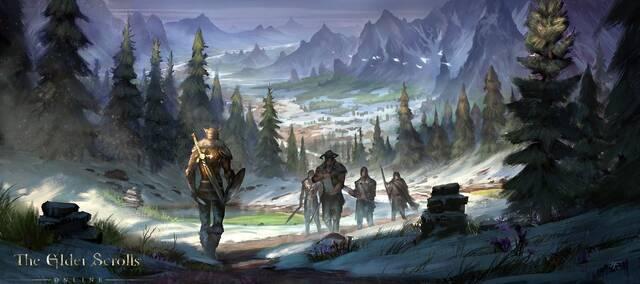 Nuevas ilustraciones de The Elder Scrolls Online