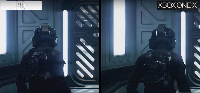 Comparan Star Wars: Battlefront II en Xbox One X y PC con gráficos en Ultra