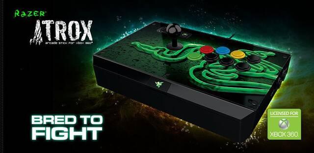 Razer lanza el Atrox Arcade Stick para Xbox 360