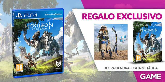 GAME detalla sus incentivos exclusivos por reserva para Horizon: Zero Dawn