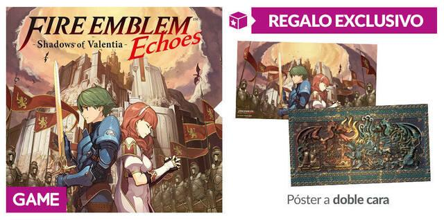 GAME anuncia incentivo por reserva para Fire Emblem Echoes Shadows of Valentia