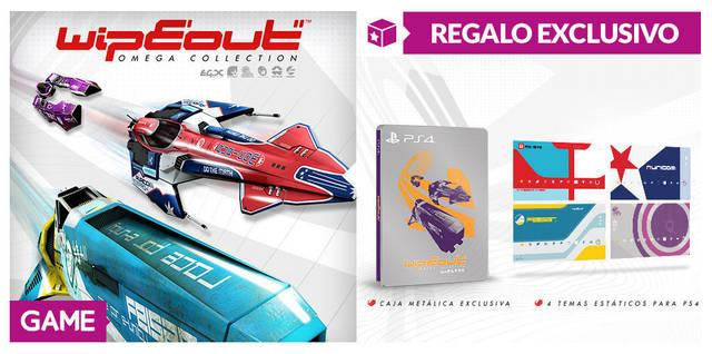 GAME anuncia incentivos por reserva de Wipeout Omega Collection