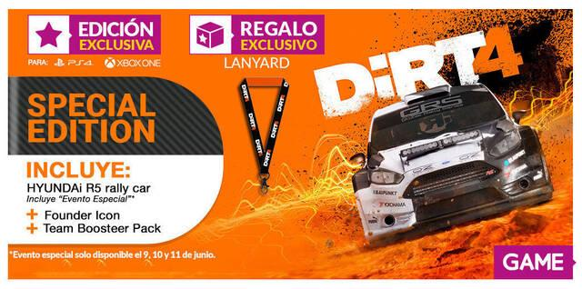 GAME detalla su regalo y edición exclusiva para DiRT 4
