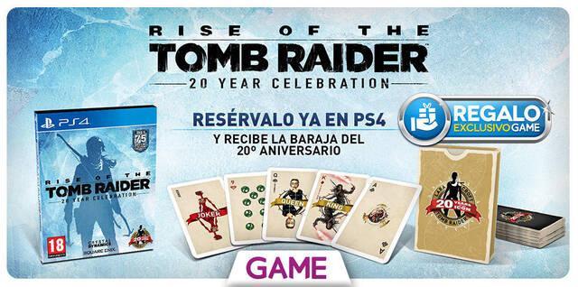 GAME detalla sus incentivos por reserva para Rise of the Tomb Raider: 20 Year Celebration