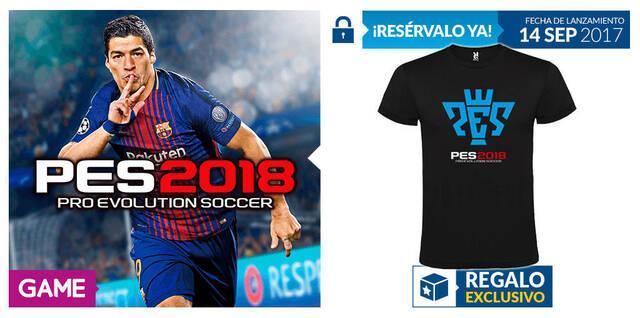 GAME anuncia un nuevo incentivo por reserva para PES 2018