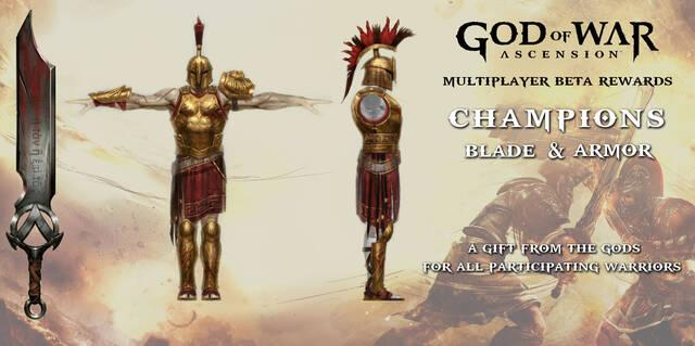 Recompensas exclusivas para los jugadores de la beta de God of War: Ascension