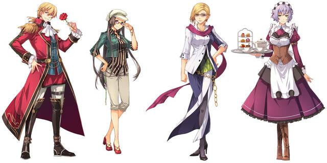 Nuevas im�genes e ilustraciones de The Legend of Heroes: Sen no Kiseki