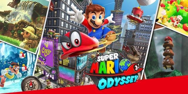Super Mario Odyssey se muestra en 35 minutos de vídeo
