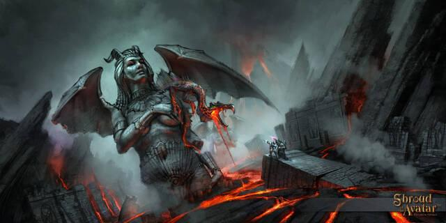 Once minutos de la jugabilidad de Shroud of the Avatar: Forsaken Virtues