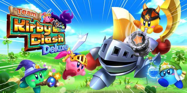 Team Kirby Clash Deluxe recibe su primera actualización