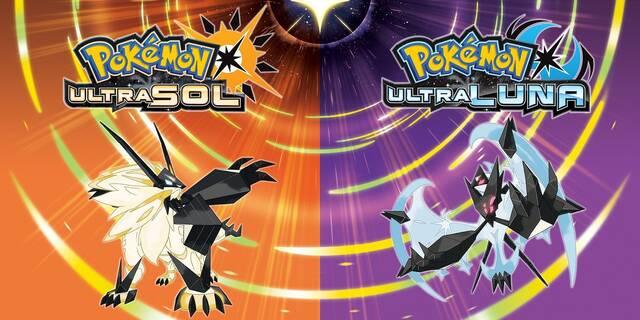 Pokémon Ultrasol / Ultraluna: Sus portadas son variaciones de Necrozma