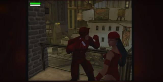 Se muestran nuevos materiales del cancelado juego de Daredevil: The Man Without Fear