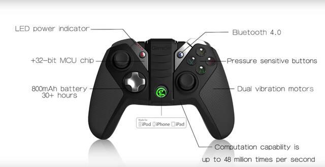 GameSir presenta su nuevo mando para iPhone, iPad y iPod Touch