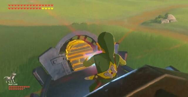 Construye un kart en Zelda: Breath of the Wild para desplazarse por tierra