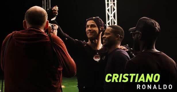 Así fue la captura de movimientos de Cristiano Ronaldo y Griezmann en FIFA 18