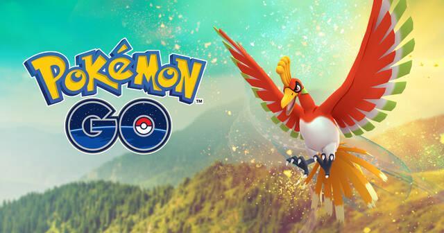 Ho-Oh estará disponible 48 horas más en Pokémon Go