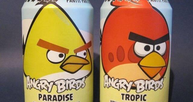Los refrescos de Angry Birds venden más que Coca-Cola y Pepsi en Finlandia