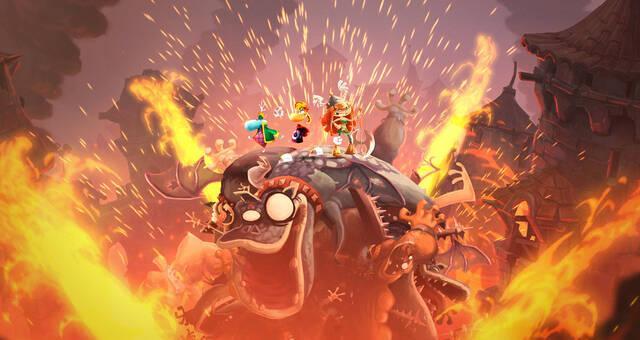 Rayman Legends se luce en nuevas imágenes