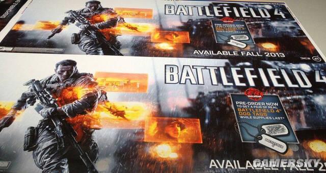 Se filtra un supuesto p�ster promocional de Battlefield 4